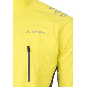 VAUDE Spray IV Jas Heren geel